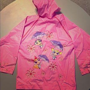 Adorable Power Puff Girls Raincoat! GUC!